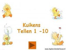 Kippen kuikens digibordlessen - Digibord Onderbouw Atlas, Preschool, Logos, Spring, Kids, Crafts, Animals, Teaching Ideas, Easter Activities