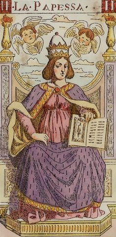 II. La Papessa (High Priestess): Tarot of the Master