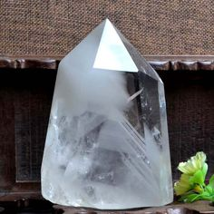 Rare Natural Green Phantom Guartz/White Phantom Crystal/ Green Phantom…