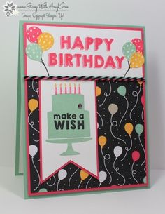You can see more information about how I created this card on my blog here:  http://stampwithamyk.com/2015/12/07/stampin-up-party-wishes-sneak-peek/