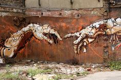 Brick Lane Graffiti Art