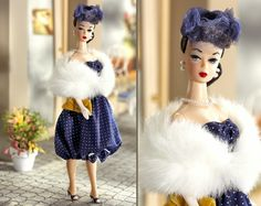 """Parisienne Pretty is part of the """"Since 1959"""" collection which commemorates famed vintage Barbie fashions re-invented for a new era. Description from terrigoldphoto.blogspot.com. I searched for this on bing.com/images"""