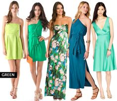 30 Colorful Cocktail Dresses for Summer via Brit + Co.