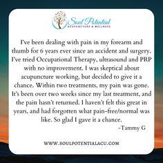 Acupuncture, Wellness