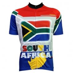 b9ea1e334 Bike jerseys Cycling equipment New Mens Cycling Jersey Comfortable Bike  Bicycle Motorcycle Apparels South African flag pattern A