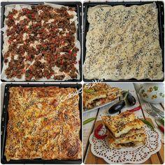 patlıcanlı börek nasıl yapılır Borek Recipe, Turkish Recipes, Ethnic Recipes, Gourmet Recipes, Healthy Recipes, Foie Gras, Homemade Beauty Products, Fish And Seafood, Oysters