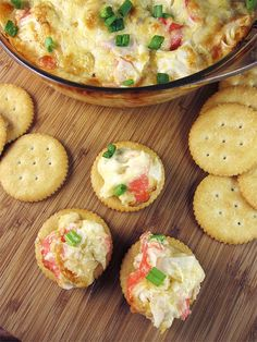 Crab and Artichoke Dip - super easy to make and decadent. The perfect appetizers for the upcoming holidays.