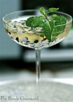 Elderflower and Cucumber Cocktail