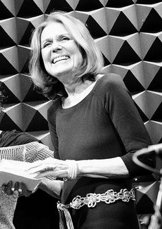 Happy Birthday! At 79, Gloria Marie Steinem–one of the founding editors of Ms. magazine–still carries the torch for the feminist movement with the same grace, fervor and boundless energy that she has for 40-plus years. As a journalist, theorist, speaker and activist, she challenges and inspires us to keep our own energy fresh for fighting the good feminist fight.
