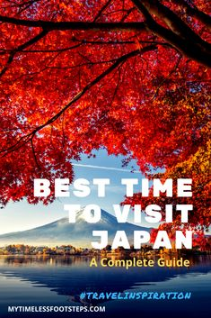 Best time to go to Japan | Japan's weather | When is the best time to visit Japan | Seasons in Japan | Autumn | Fall colours in Japan via @GGeorgina_mytimelessfootsteps/ Tokyo Japan Travel, Japan Travel Tips, Go To Japan, Visit Japan, Bali Travel, Travel Abroad, Amazing Destinations, Travel Destinations, Japanese Travel