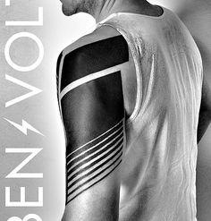 blackwork tattoo on arm Trendy Tattoos, Black Tattoos, Tribal Tattoos, Tattoos For Guys, Cool Tattoos, Tatoos, Neue Tattoos, Body Art Tattoos, Sleeve Tattoos