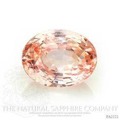 Padparadscha Sapphire+Rose Gold