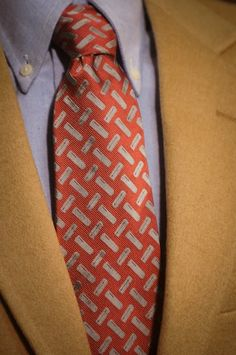 Buffalo Jackson Old Mauve Shotgun Shell Necktie