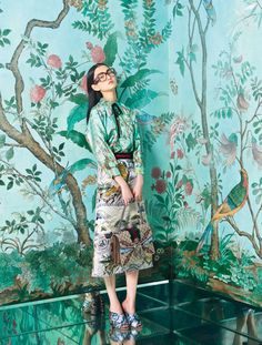Alessandro Michele Gucci Designer Photos | W Magazine