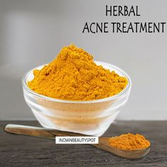 Turmeric is the best natural herbal remedy used in treating acne due to its anti-bacterial,...