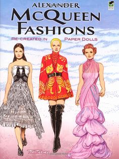 Alexander McQueen Fashions: Re-created in Paper Dolls (Dover Paper Dolls): Tom Tierney: 9780486481784: Amazon.com: Books