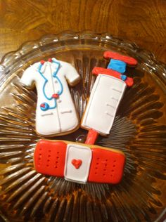Doc McStuffins cookies created by Debra V.