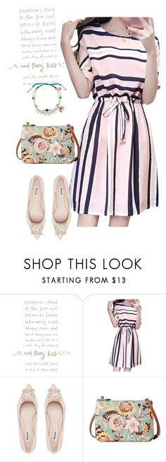"""dress"" by masayuki4499 ❤ liked on Polyvore featuring Lauren Ralph Lauren and Chloe + Isabel"