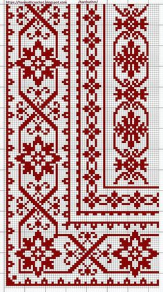 Cross Stitch Borders, Cross Stitch Rose, Modern Cross Stitch, Cross Stitch Flowers, Cross Stitch Designs, Cross Stitching, Cross Stitch Embroidery, Embroidery Patterns, Cross Stitch Patterns