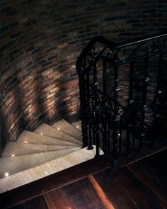 To the Cellar Stair uplights