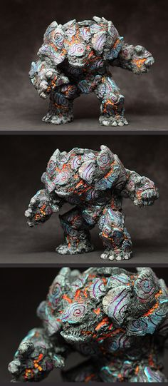Yuna's stone golem, I understand that she is just 11 years old.