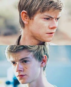 Thomas Brodie Sangster as Newt in the Scorch Trials