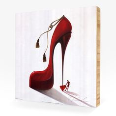 There's nothing a woman can't conquer with some attitude and a hot pair of heels.