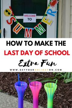Happy Last Day of School Tips & Tricks #parenting #school #family #summer