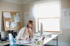 10 consejos para trabajar desde casa  Armá tu propio espacio, separado lo más posible del resto de la casa.         Foto:Corbis