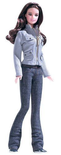 TOP MATTEL TWILIGHT JASPER DOLL BLUE FAUX BUTTON DOWN SHIRT ACCESSORY CLOTHING