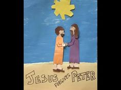 Jesus forgives Peter - YouTube Jesus Forgives, Forgiveness, September, Sunday, Student, Activities, Youtube, Kids, Young Children