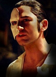 Gerard Butler as the Phantom. One of my favorite musicals of all time. OF ALL TIME.