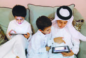 Qatar Library links for children's books in Arabic and English