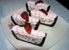 Sweet Desserts, Dessert Recipes, Ice Cream Candy, Russian Recipes, Cake Cookies, No Bake Cake, Cheesecake, Tiramisu, Strawberry