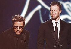 chris evans and robert downy jr.Likes | Tumblr