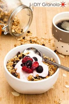 this the one! remember to use this version of DIY granola - any number of ways.  This is perfect for recipe rulebreakers like me!