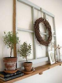 Old windows reused