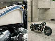Bike EXIF supplies a daily dose of cafe racers, custom motorcycles and . Harley Nightster, Sportster Motorcycle, Harley Davidson Sportster 1200, Custom Sportster, Motorcycle Tank, Custom Harleys, Harley Davidson Bikes, Bobber, Sportster 48