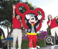 DLR Ambassadors and Mickey