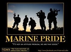 Pride runs through every Marine Corps family too!  Marine Corps brat for life!