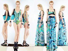 O trend foi apresentado por estilistas conceituados no mercado da moda, como Valentino, Roberto Cavalli e Emilio Pucci.