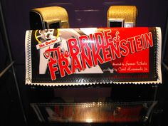 DIY Bride of Frankenstein magazine vinyl glitter  wallet. $10.00, via Etsy.