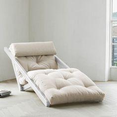 Sesselbett Figo Weiß Natur, 259€, jetzt auf Fab.