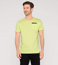 T-Shirt aus Bio-Baumwolle in der Farbe hellgrün bei C&A