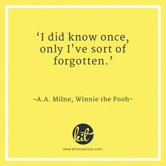 Chemo brain is a common chemotherapy side effect that affects thinking & mood. Chemotherapy Side Effects, Chemo Brain, First They Came, Keep In Mind, Winnie The Pooh, Cancer, Mood, Stickers, Sayings
