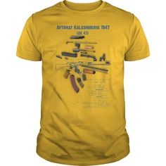 ak 47 part T-Shirts, Hoodies. BUY IT NOW ==► https://www.sunfrog.com/Hobby/ak-47-part-Yellow-Guys.html?id=41382