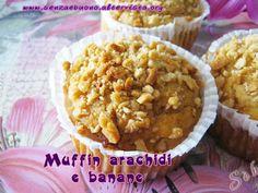 Muffin #senzagutine e #senzalatte arachidi e banane