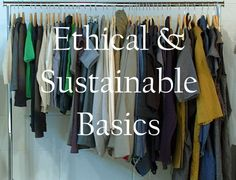 Where to buy sustainable fashion basics such as socks. Leggings and underwear. Nice list if you can ignore the typos.