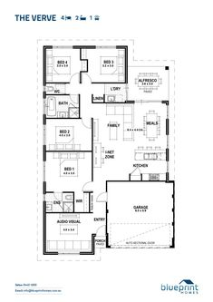Promotional homes designs the getaway open plan and spaces promotional home designs the verve malvernweather Choice Image