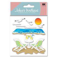 Jolee's Boutique® | Beach Leisure Stickers  $4.39